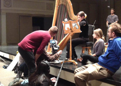 Filming for The Harpist Movie