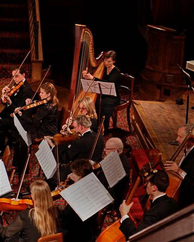 With the Concord Chamber Orchestra